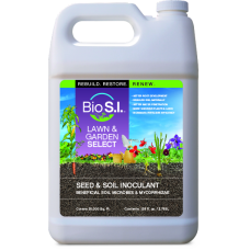 Bio S.I. Lawn & Garden Select Seed & Soil Inoculant 1 gal. (Case of 4)
