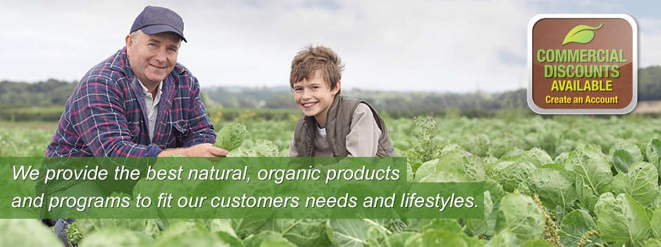 We provide the best sustainable, organic products.